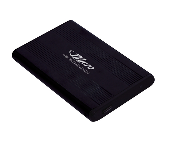 "iMicro Black 2.5"" IDE to USB Hard Drive Enclosure"